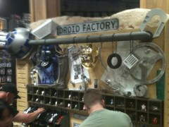 Star Wars: Droid Factory at Tatooine Traders