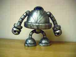 Onell Design Glyos System Silver Gobon Action Figure