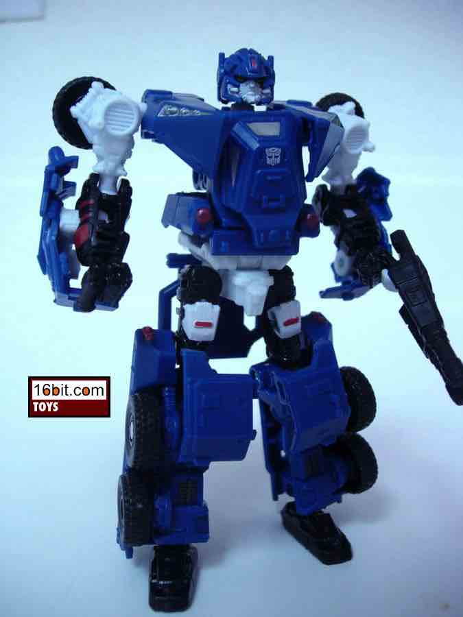 "BREACHER Transformers HFTD Scout Class 4/"" inch Autobot Figure 2010"