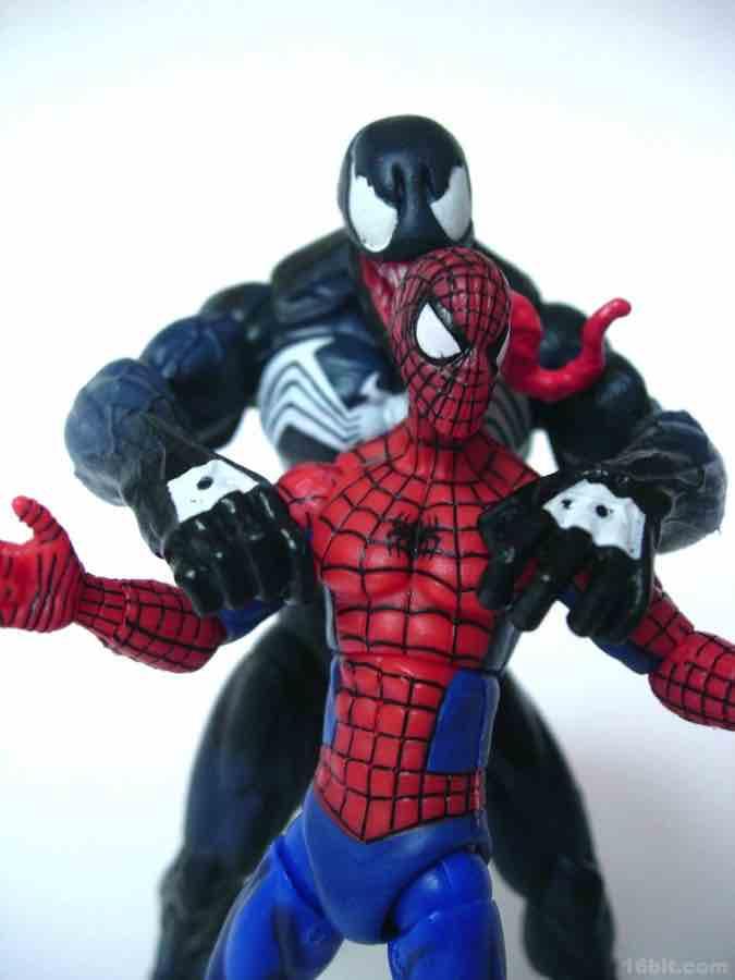 ultimate spider man venom toy - photo #14