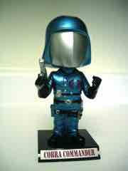 Funko G.I. Joe Metallic Cobra Commander Bobble Head