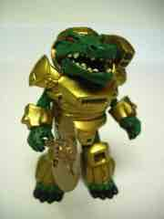 Diamond Select Battle Beasts Minimates SDCC Gold Alligator