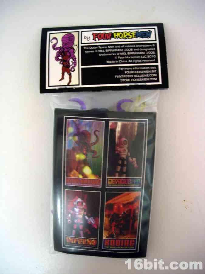 16bit com Figure of the Day Review: Four Horsemen Outer Space Men