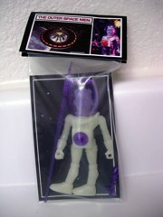 Four Horsemen Outer Space Men Alpha Series Electron+ Action Figure