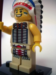 LEGO Minifigures Series 3 Tribal Chief (Indian)