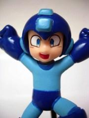 BanDai Megaman Trading Figures Jumping Megaman