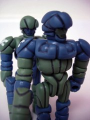 Onell Design Glyos Relgost Wing Division Glyan Action Figure