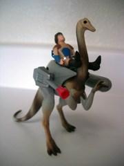 Tyco Dino-Riders Struthiomimus and Nimbus