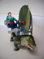 Tyco Dino-Riders Dimetrodon and Shado