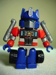 Hasbro Kre-O Promo Transformers Optimus Prime Kreon