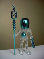 Four Horsemen Outer Space Men Galactic Holiday Electron+ Action Figure