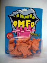 October Toys Outlandish Mini Figure Guys (OMFG) Series 1 Minifigures