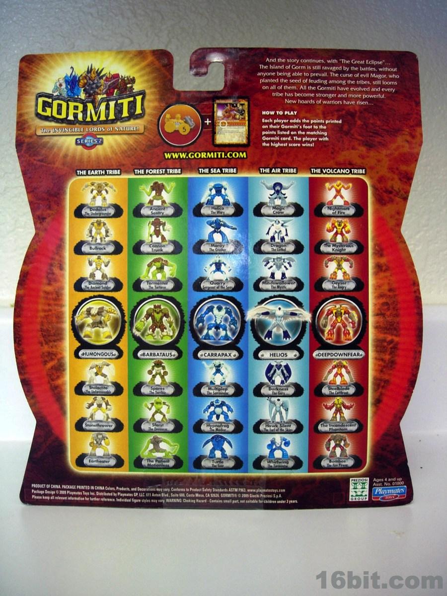 16bit Com Figure Of The Day Review Playmates Gormiti