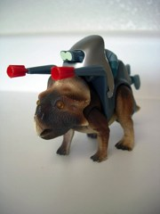 Tyco Dino-Riders Protoceratops and Kanon