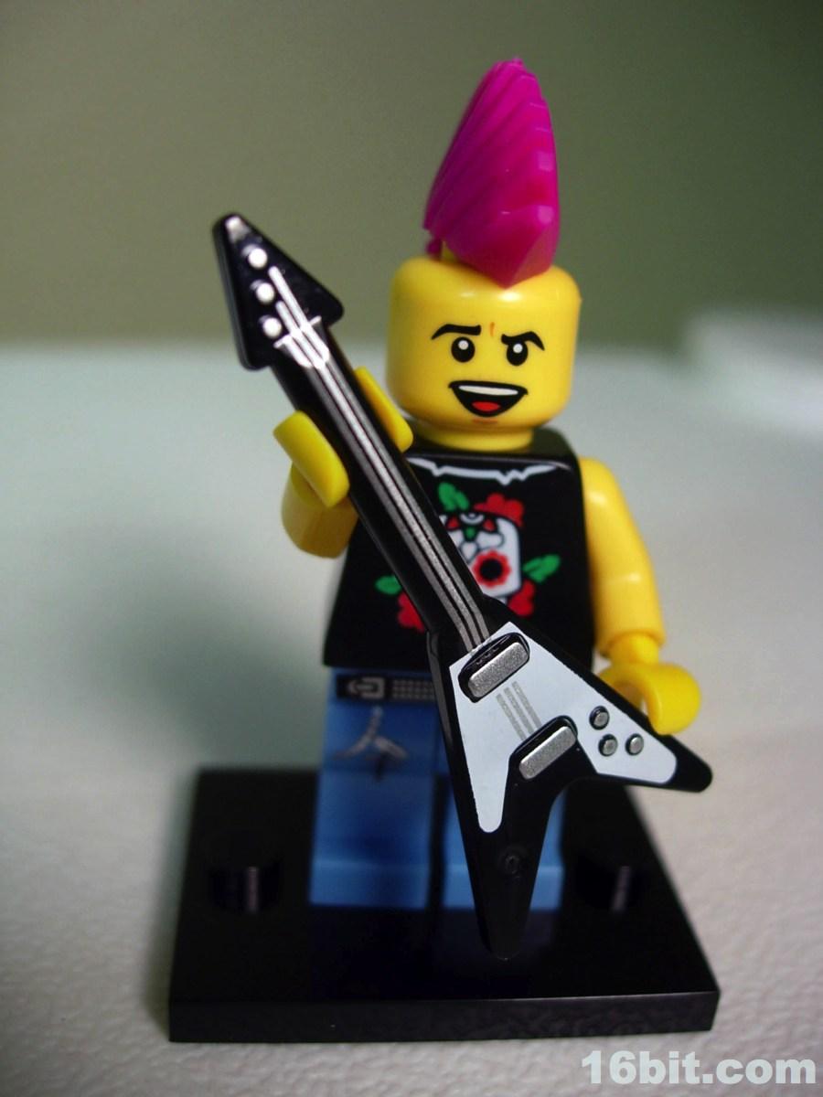 Как из лего сделать гитару для человечков