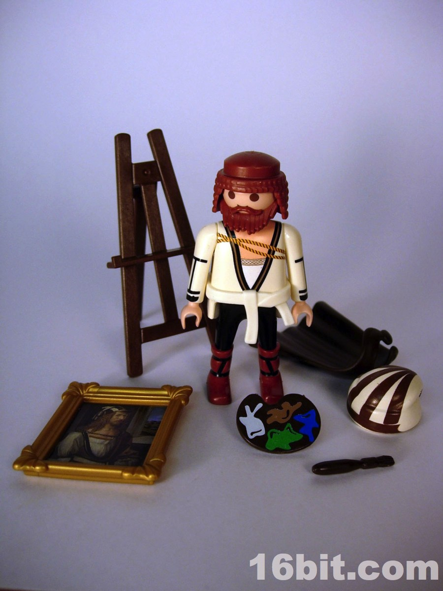 Playmobil Painters Easel