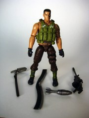 Hasbro Jurassic Park G.I. Joe Heavy Gunner Action Figure