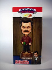 Beeline Creative Parks and Recreation Ron Swanson Bobble Head