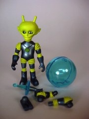 Four Horsemen Outer Space Men Infinity Edition Alpha 7 Action Figure