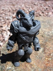 Diamond Select Battle Beasts Minimates C2E2 2012 Grey Vorin