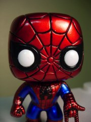 Funko Marvel Universe Pop! Vinyl SDCC Exlusive Spider-Man Vinyl Figure Bobble Head
