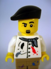 LEGO Minifigures Series 4 Artist