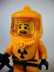 LEGO Minifigures Series 4 Hazmat Guy