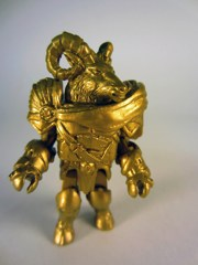 Diamond Select Battle Beasts Minimates SDCC 2012 Gold Vorin Action Figure