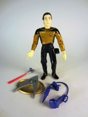 Playmates Star Trek: The Next Generation Lieutenant Commander Data in First Season Uniform Action Figure