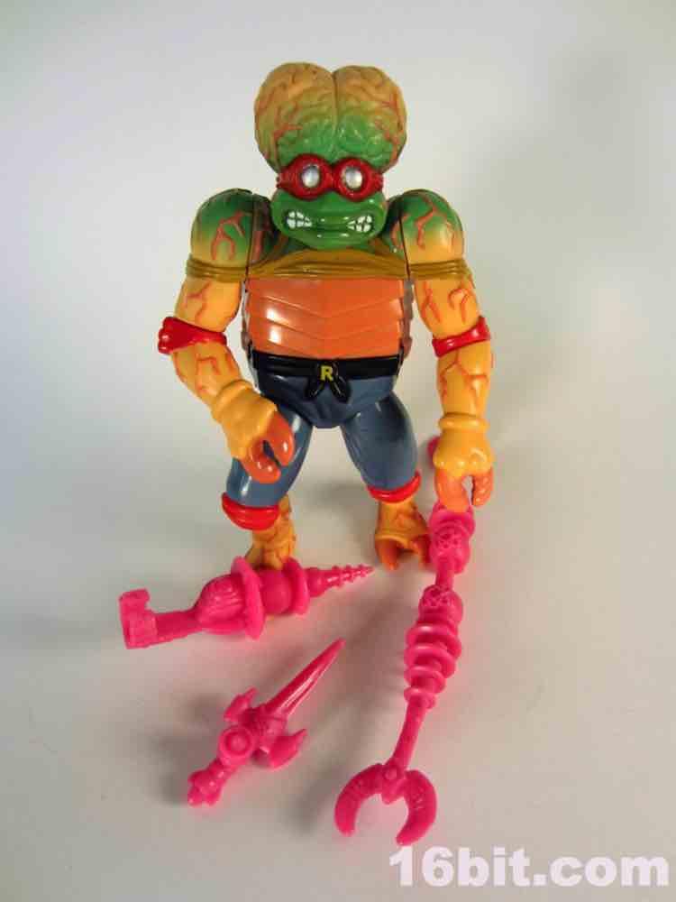 Teenage Mutant Ninja Turtles Mutant Monster Toys : Bit figure of the day review playmates teenage