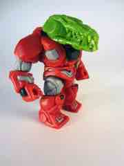 The GodBeast Customs Glyos Green CyberGator Head Glyos Accessory