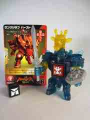 Takara-Tomy Beast Saga Long Giraf Burst Action Figure