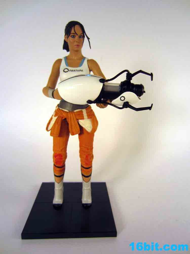 16bit.com Figure of the Day Review: NECA Portal 2 Chell Action Figure