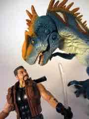 Hasbro Jurassic Park Allosaurus Assault Action Figure Set