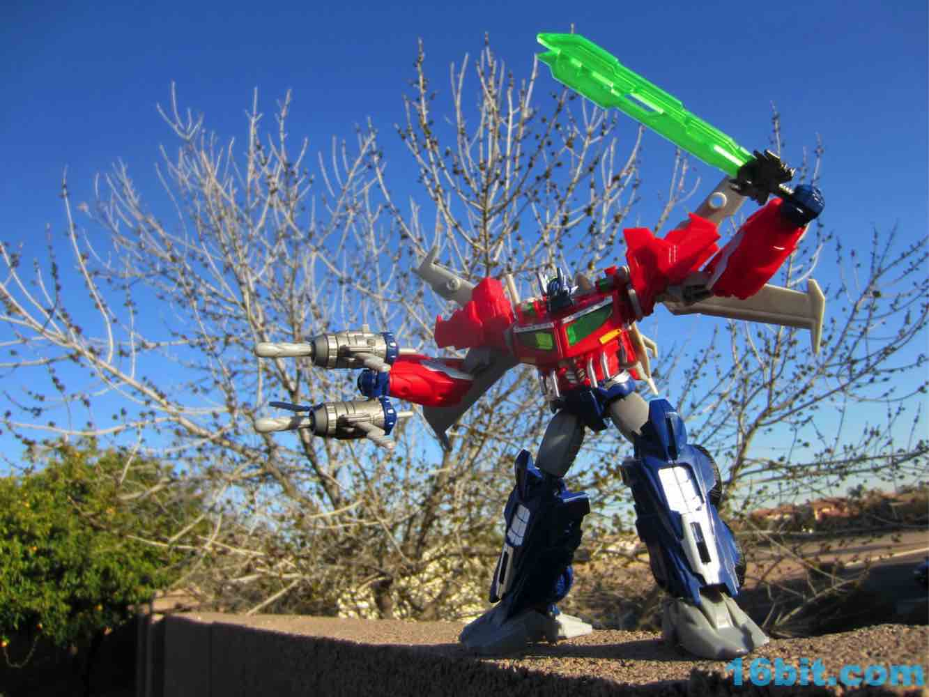16bitcom Figure of the Day Review Hasbro Transformers Prime