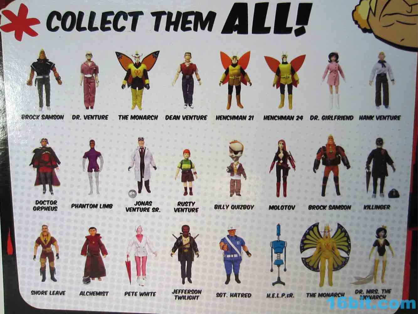 figure of the day review bif bang pow venture bros