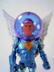 Four Horsemen Outer Space Men Cosmic Creators Mel Birnkrant Edition Blue Angel Commander Comet Action Figure