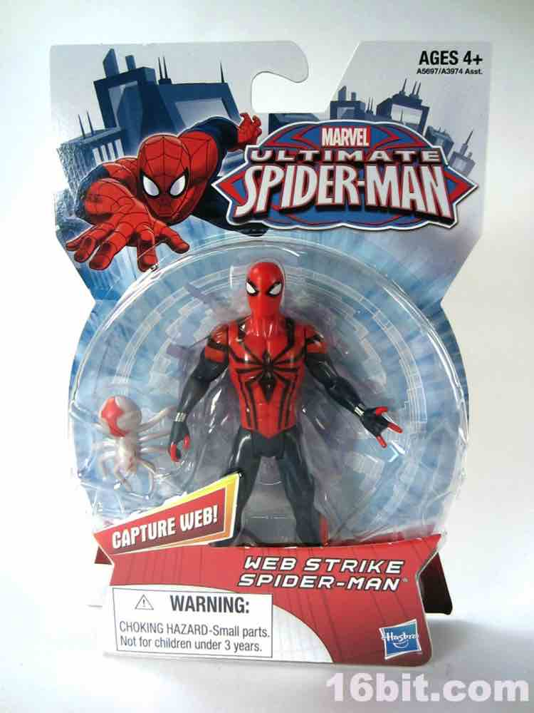 Figure Of The Day Review Hasbro Ultimate Spider Man Web Spiderman Strike Action