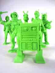 Tim Mee Toys Green Galaxy Laser Team Star Patrol Jumbo Figure Set