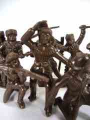 Tim Mee Toys Brown Backwoods Battle Frontiersmen Figure Set