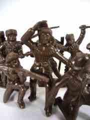 Tim Mee Toys Brown Backwoods Battle Frontiersmen Figure Set