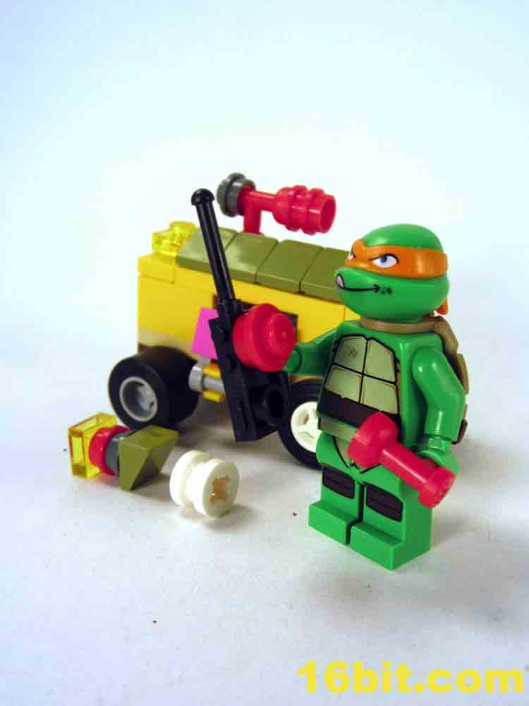 16bit Com Figure Of The Day Review Lego Teenage Mutant