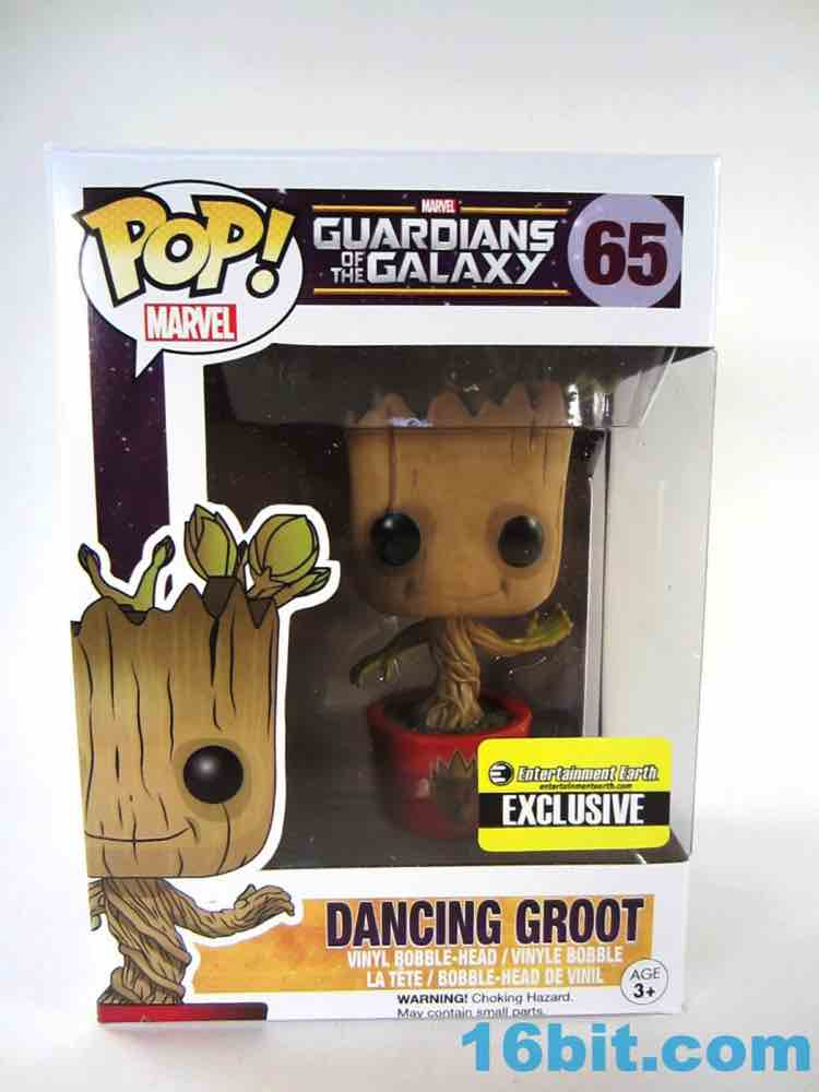 EE Exclusive Guardians of the Galaxy Ravagers Groot Funko Pop Vinyl
