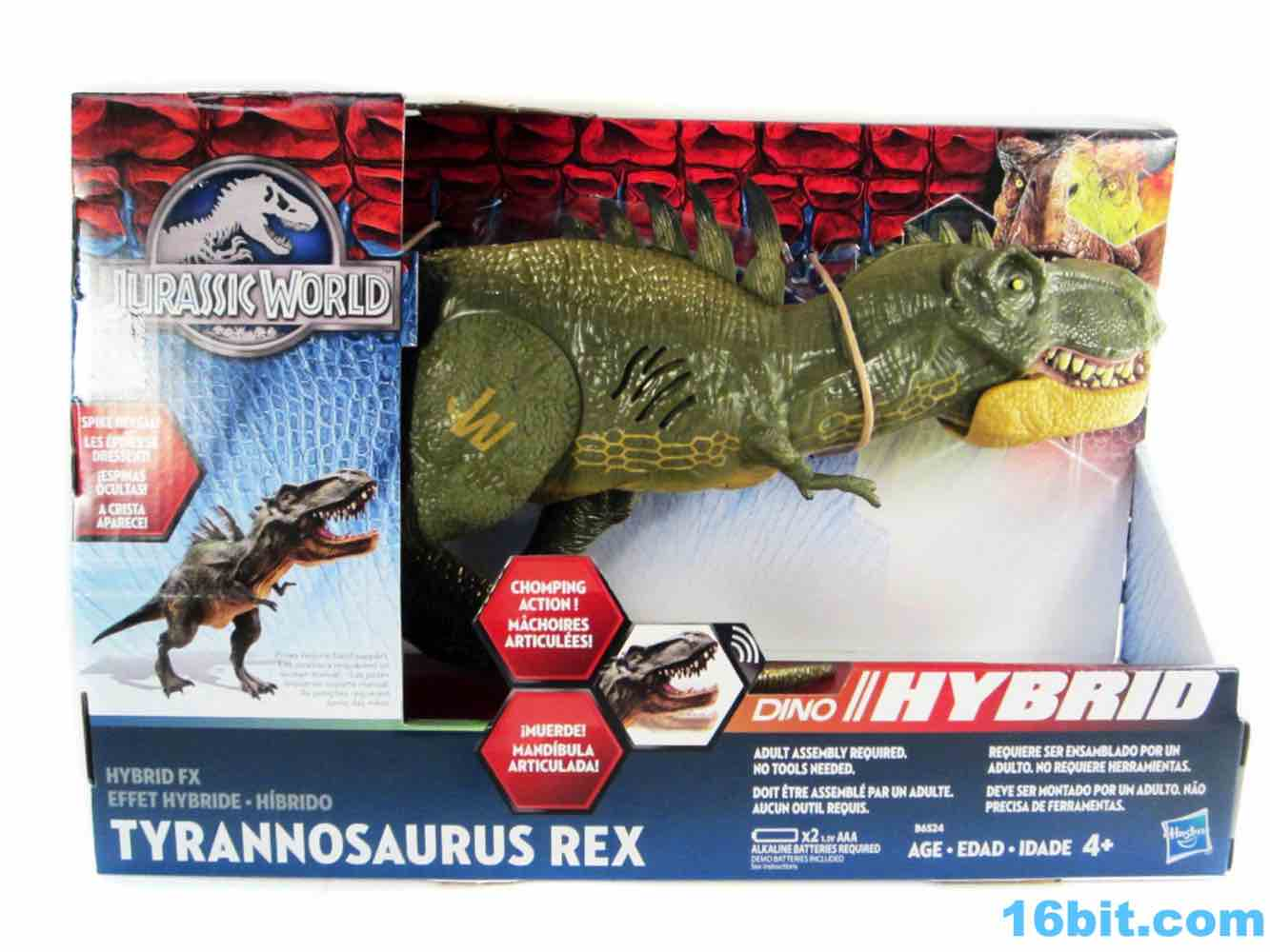 16bit Com Figure Of The Day Review Hasbro Jurassic World Hybrid