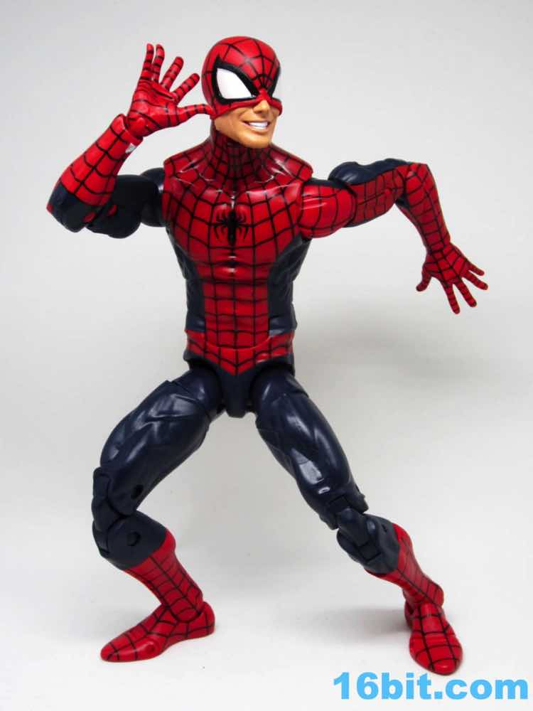 Figure Of The Day Review Hasbro Marvel Legends Series Spiderman Spider Man Action