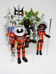 Four Horsemen Outer Space Men Chrome Accessories Set