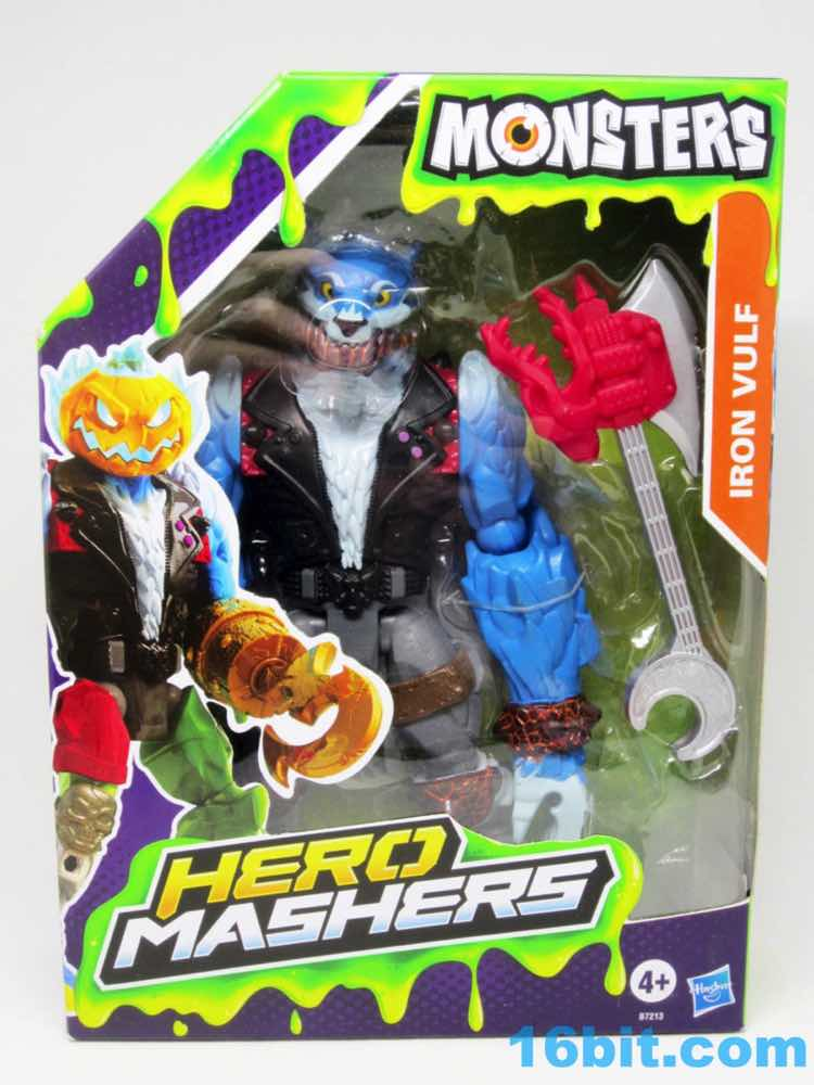 16bit Com Figure Of The Day Review Hasbro Hero Mashers