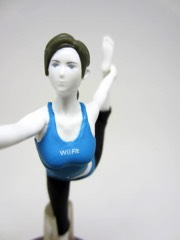 Nintendo Super Smash Bros. Wii Fit Trainer Amiibo