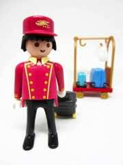 Playmobil Summer Fun 5270 Porter with Luggage Cart
