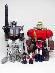 Hasbro Transformers Generations Megatron and Optimus Prime